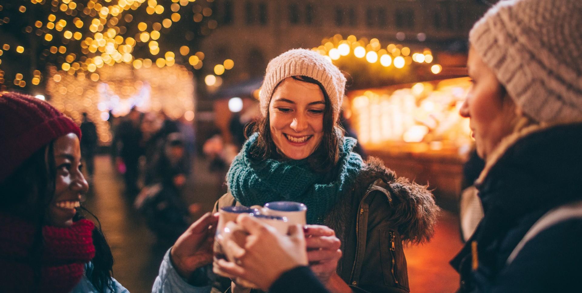 Mulled Wine Christmas Market.Festive Christmas Markets To Kick Off The Holiday Season