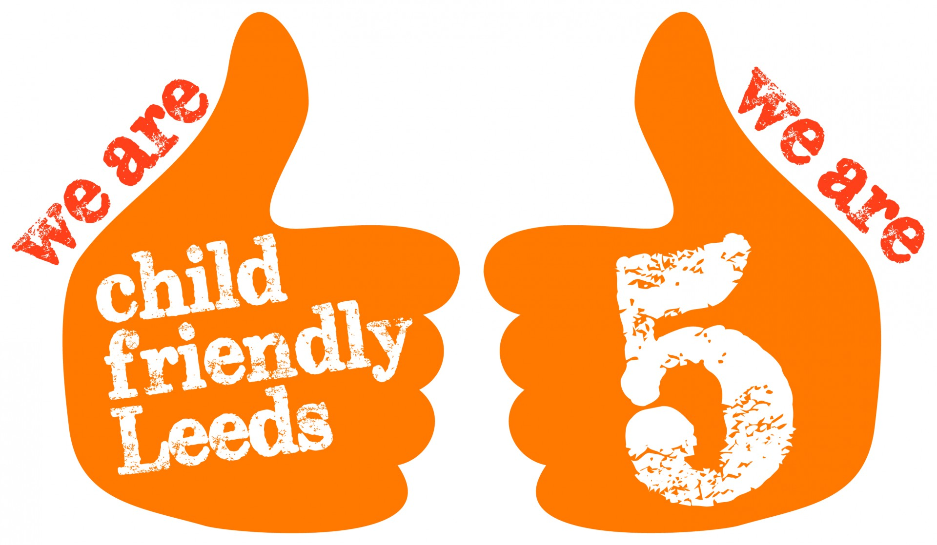 Child Friendly Leeds 5th Birthday logo
