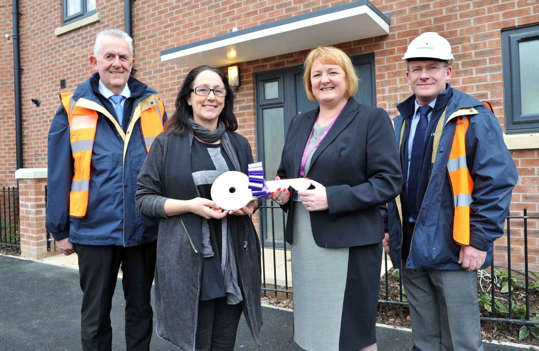 final home handover at Carlton Gate