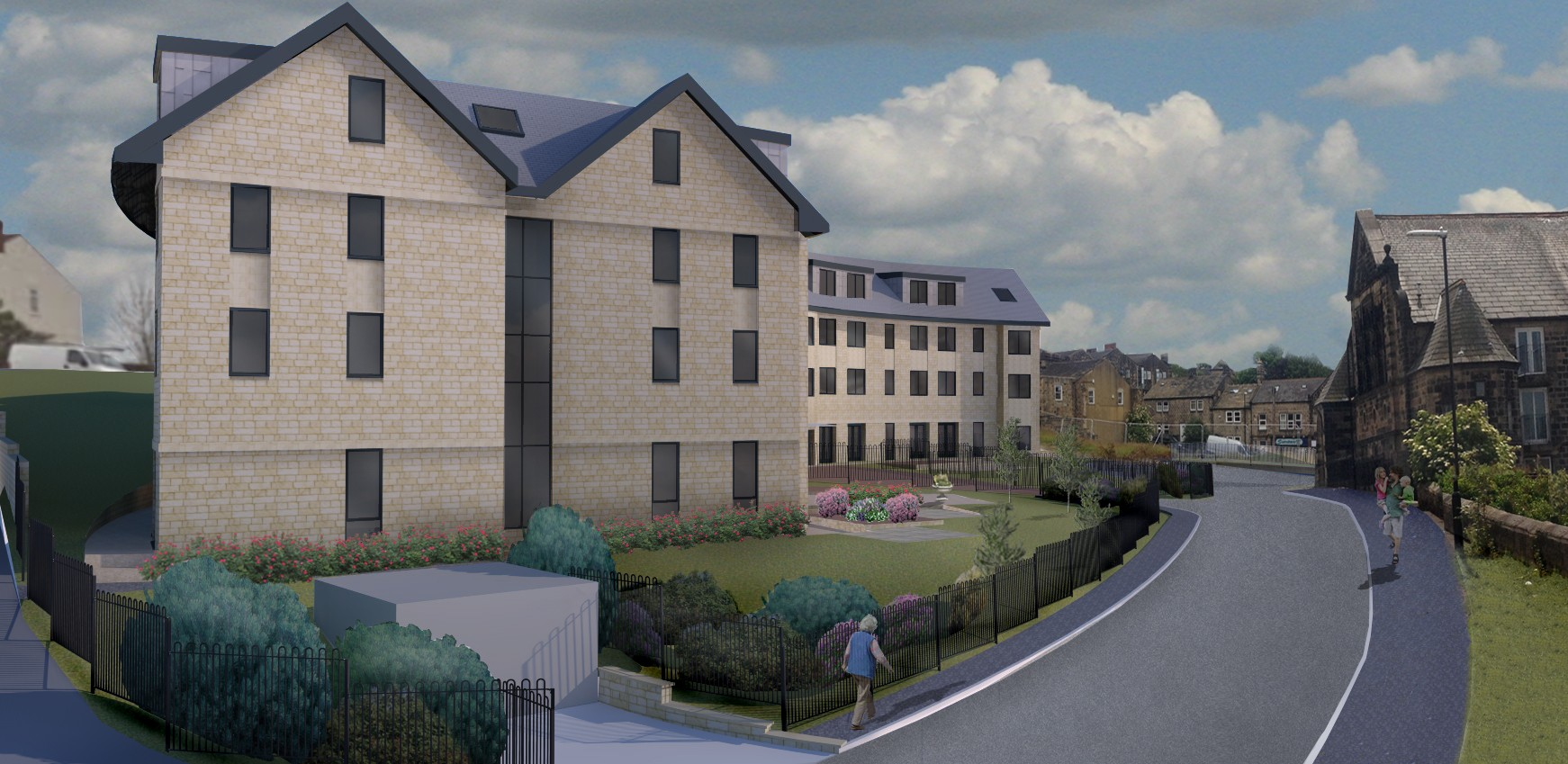 Extra care apartments in Yeadon