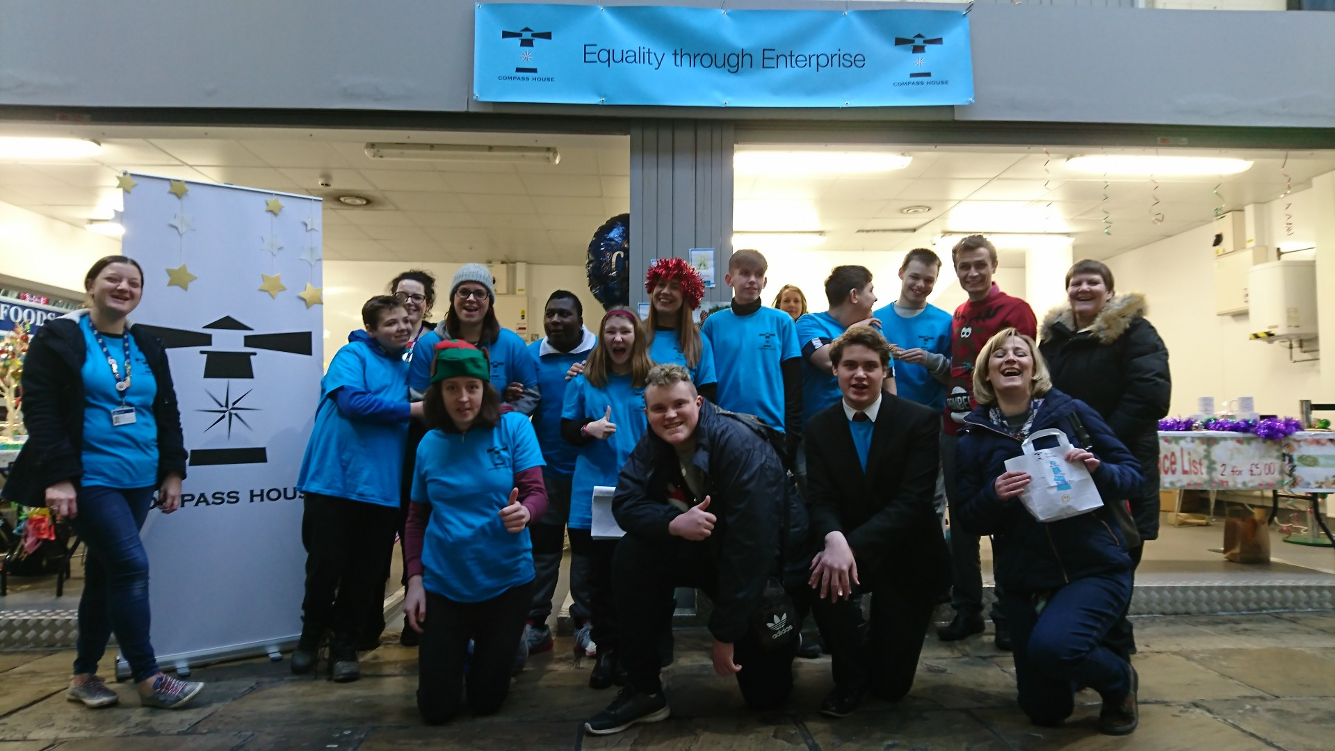 Group photo - kirkgate market