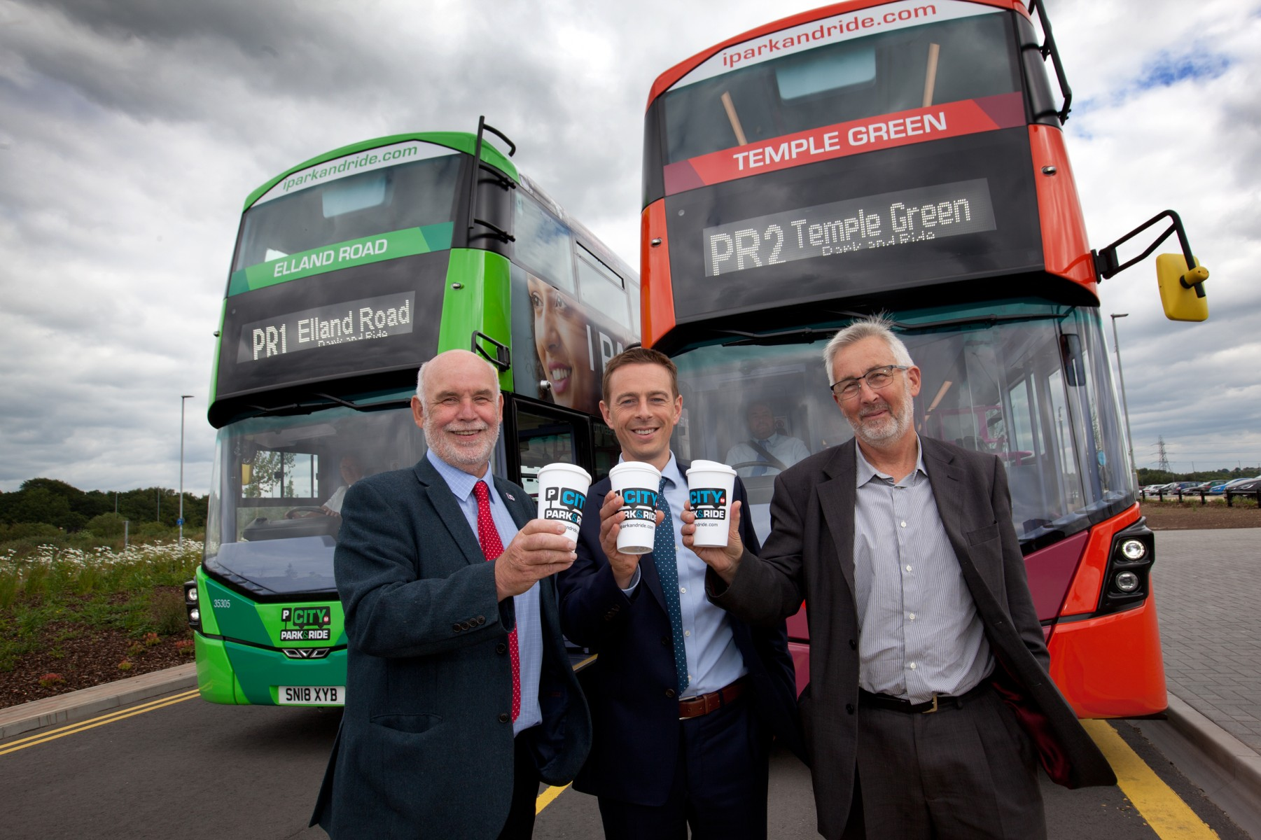 New park and ride buses for Leeds