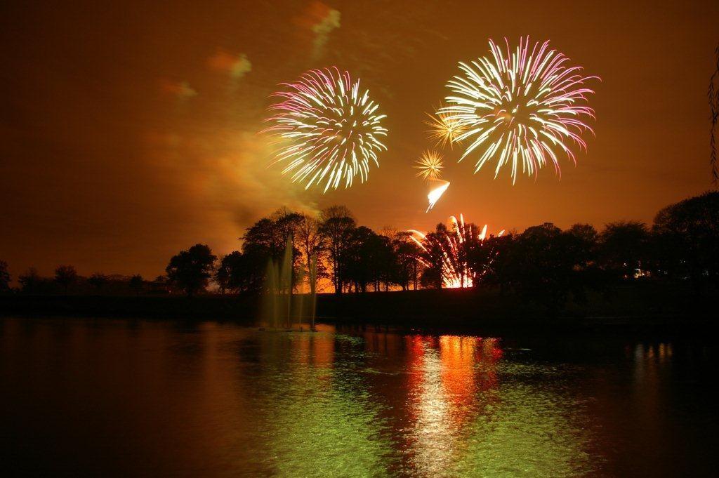 Roundhay fireworks, Andrew Ramsay