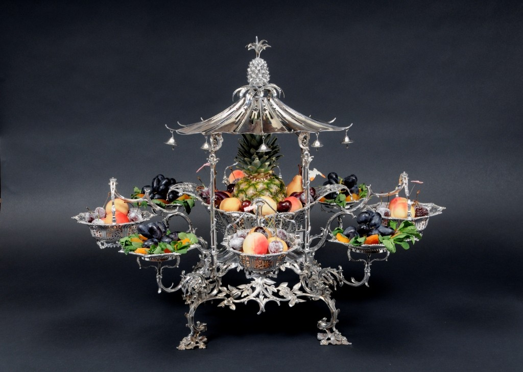 Silver epergne