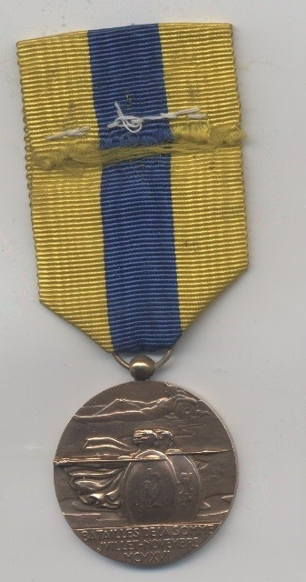 The Somme medal