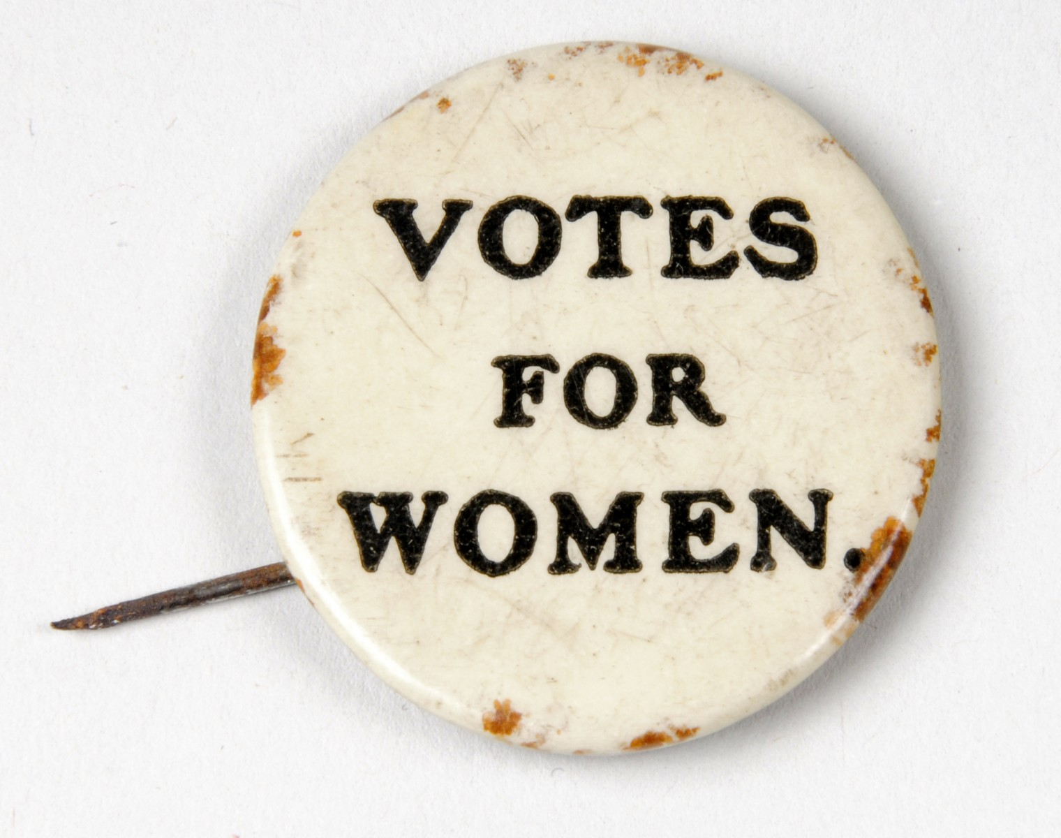 object of the week suffragette badge