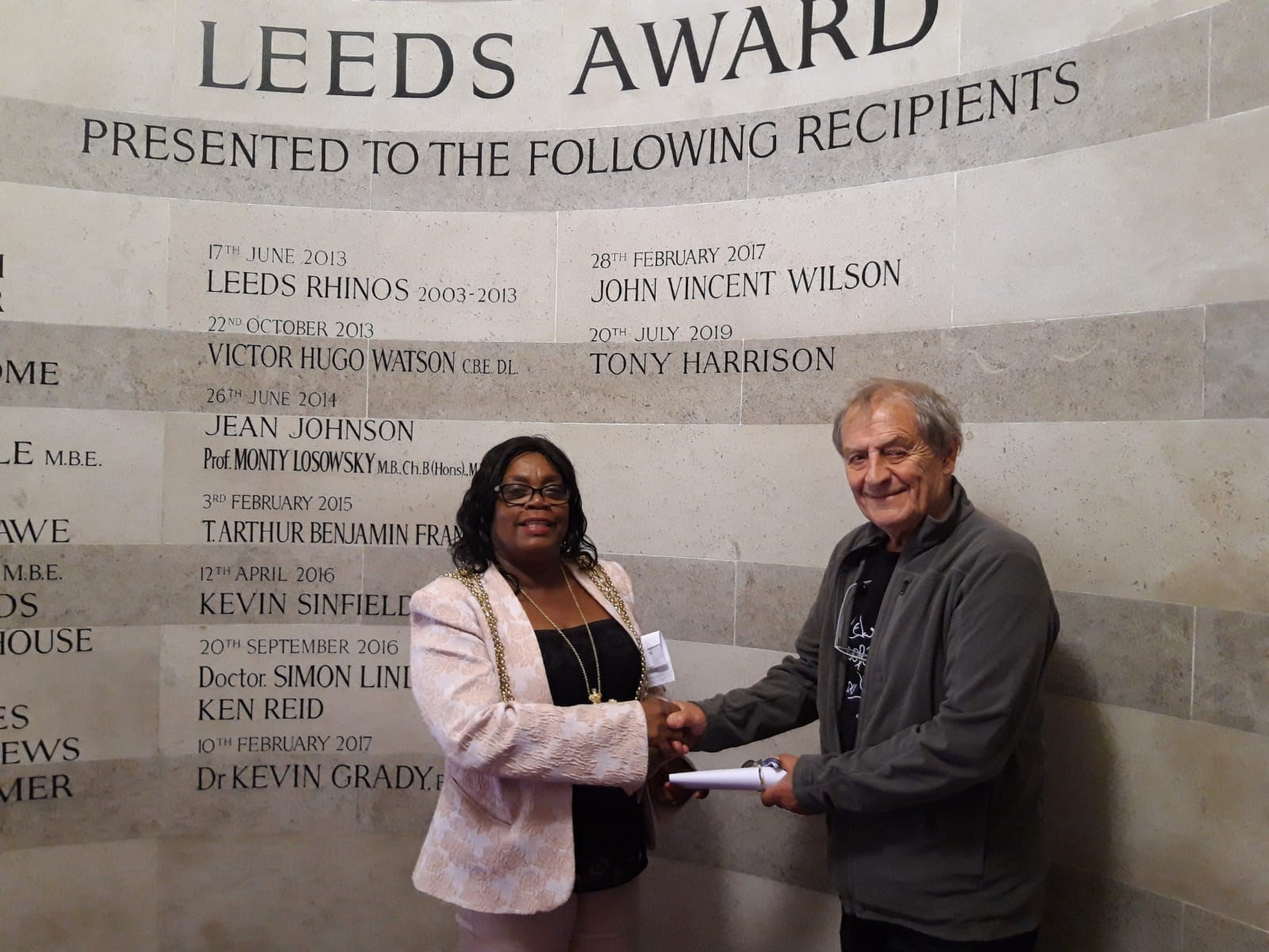 Tony.Harrison - Leeds Award