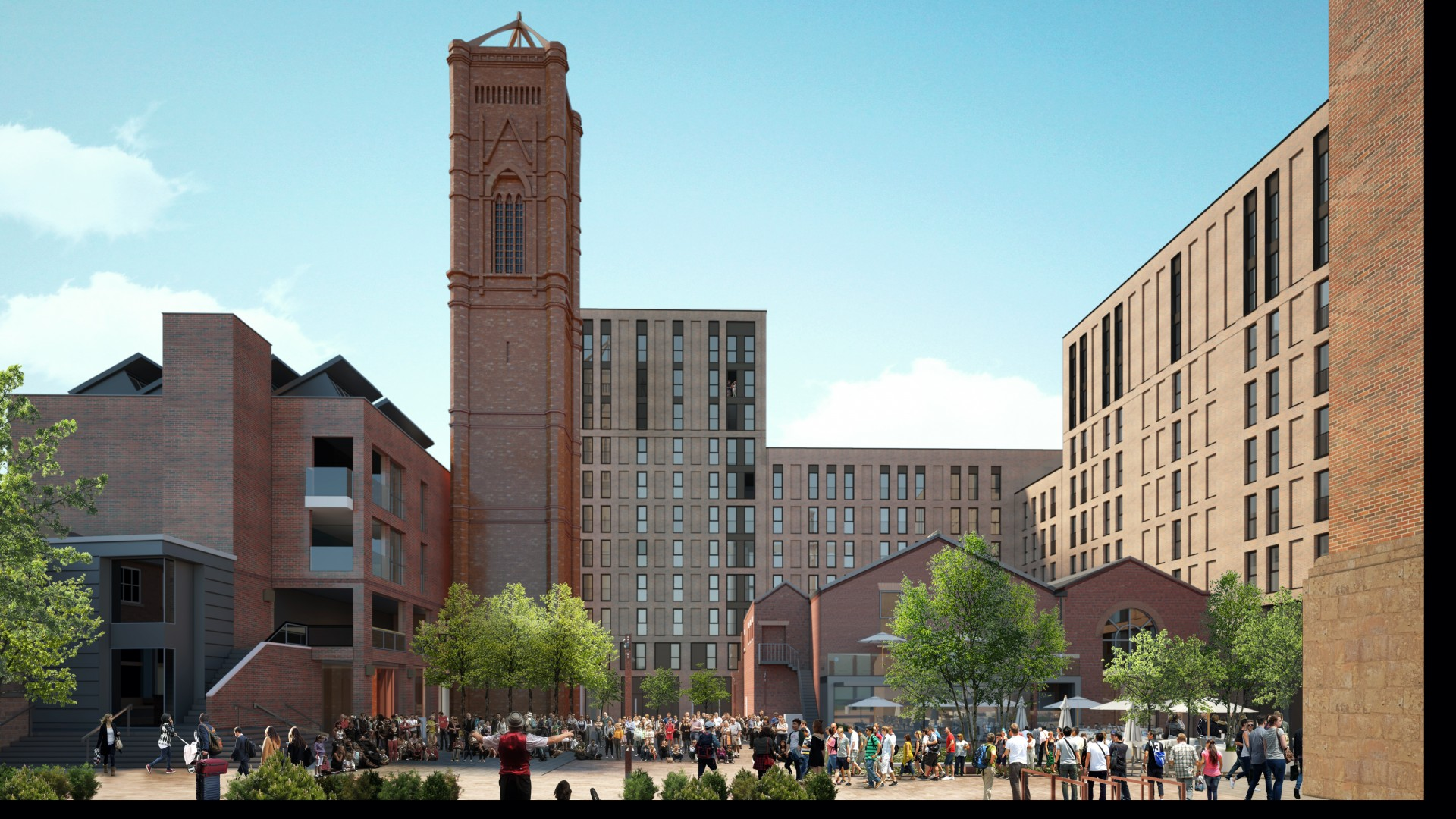 Tower Works development - The Engine House