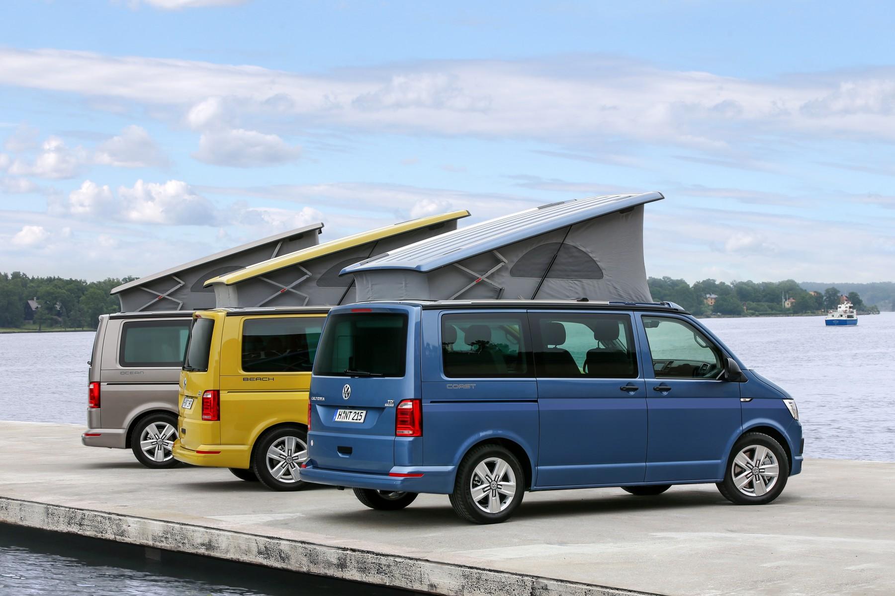 De Nieuwe Volkswagen California De Populaire Kampeervriend