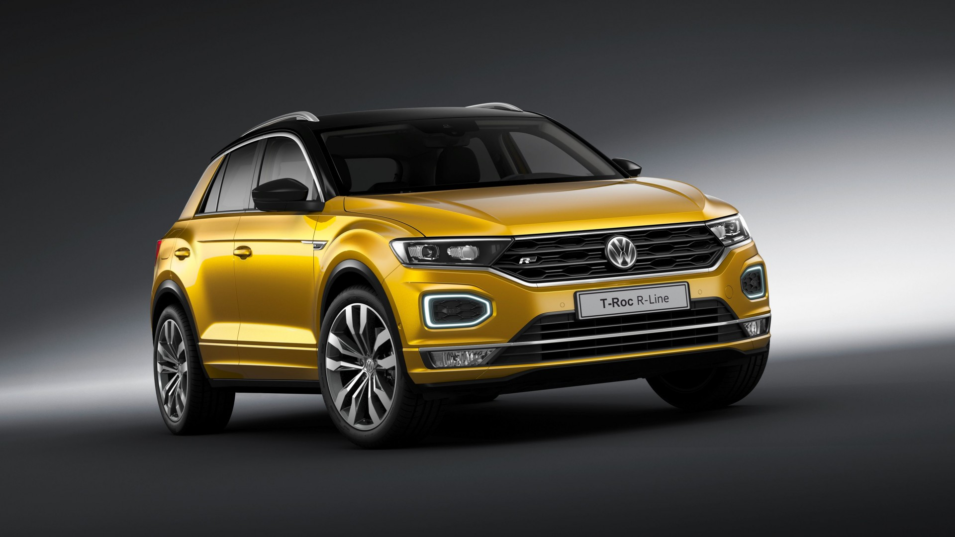 Volkswagen T Roc Specifications >> Volkswagen presenteert T-Roc met R-Line interieur en exterieur op IAA