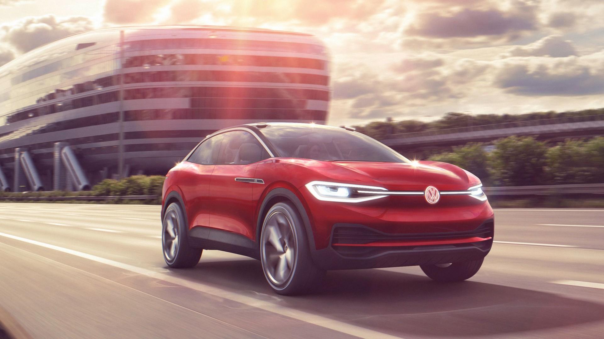 De Elektrische Suv Van Volkswagen I D Crozz Ii Debuteert Op Iaa