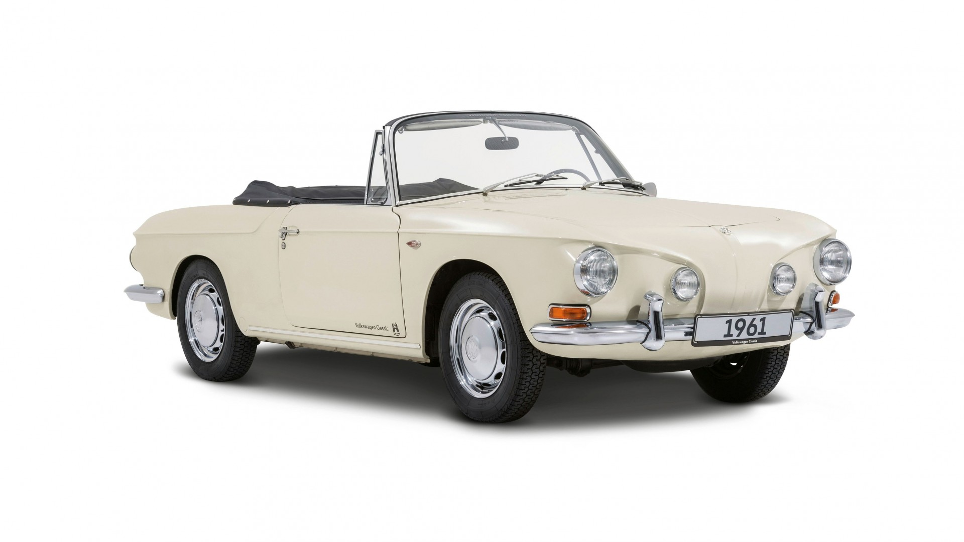 Karmann Ghia Type 34 convertible prototype