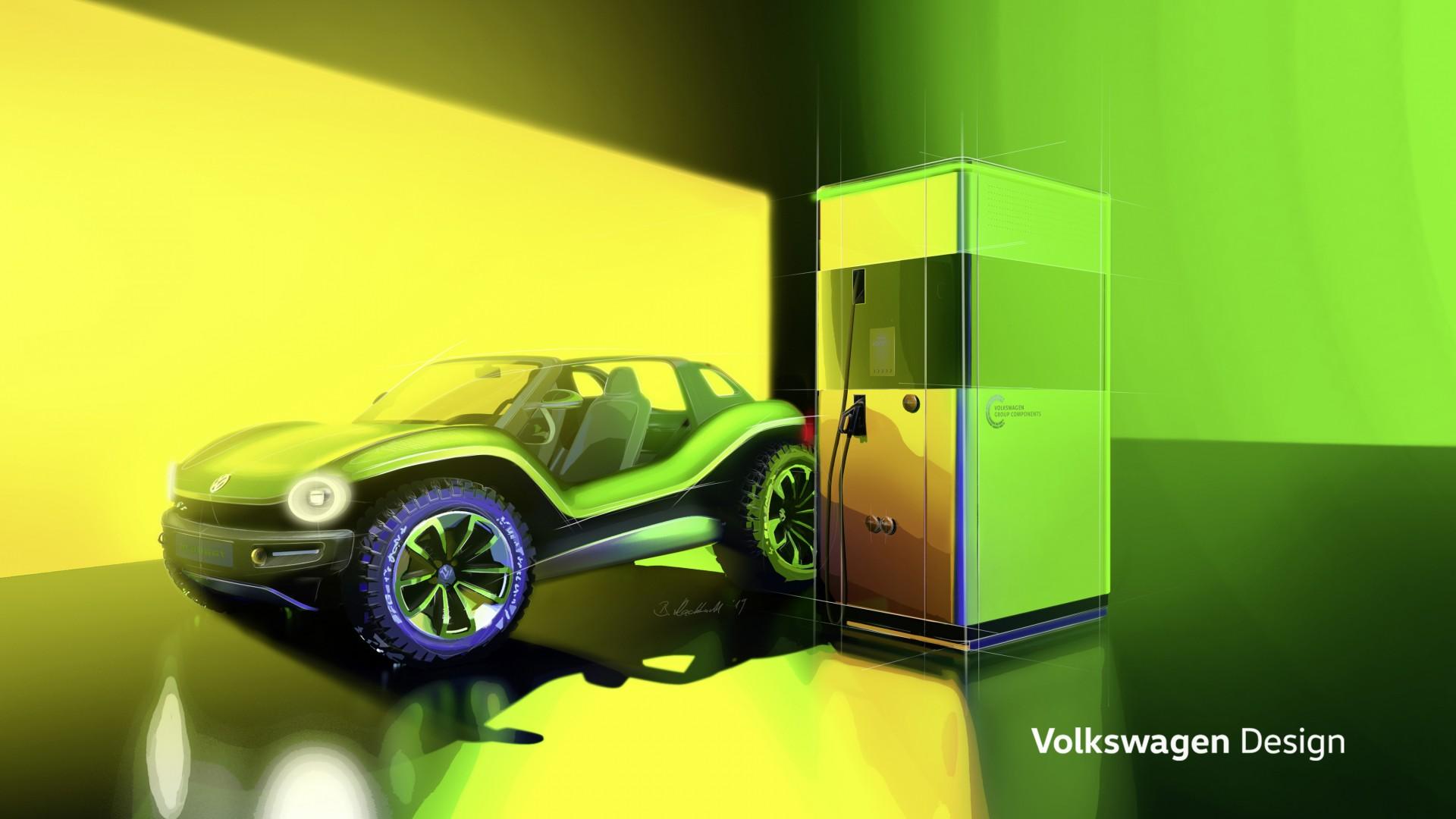 Volkswagen onthult met powerbank nieuwe stap in mobiele energie-opslag