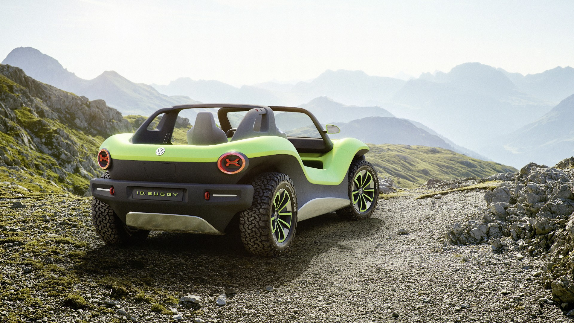 Elektrische fun car van Volkswagen: de ID. BUGGY