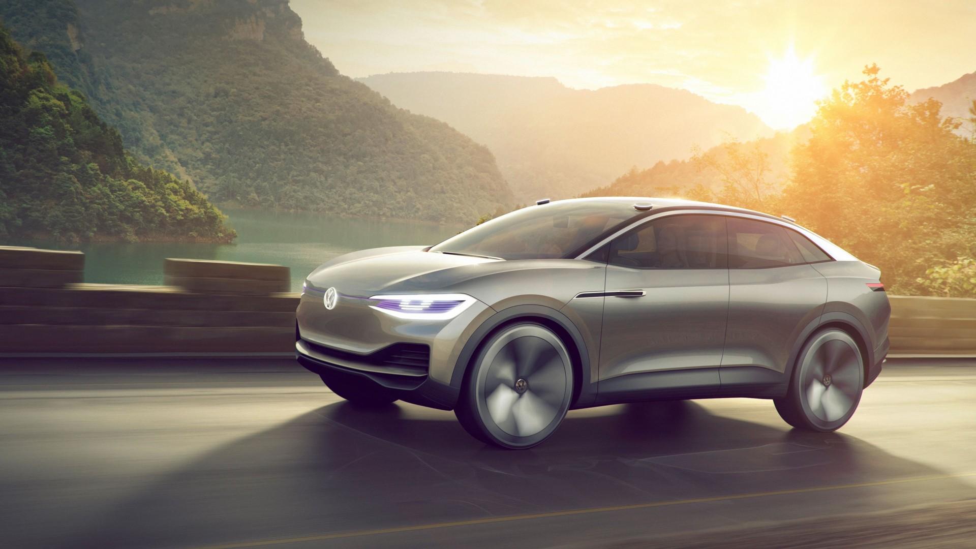 Volkswagen I D Crozz Voorbode Van Elektrische Coupe Suv