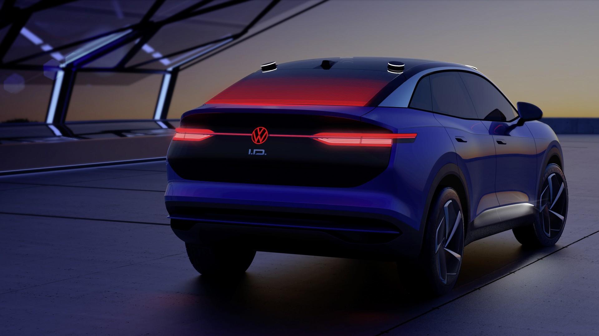 Volkswagen brengt auto's tot leven met innovatief lichtdesign - I.D. CROZZ