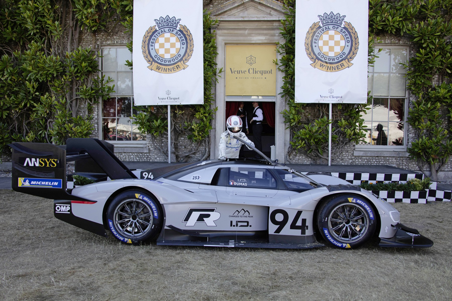 Volkswagen I.D. R Pikes Peak - Goodwood 2