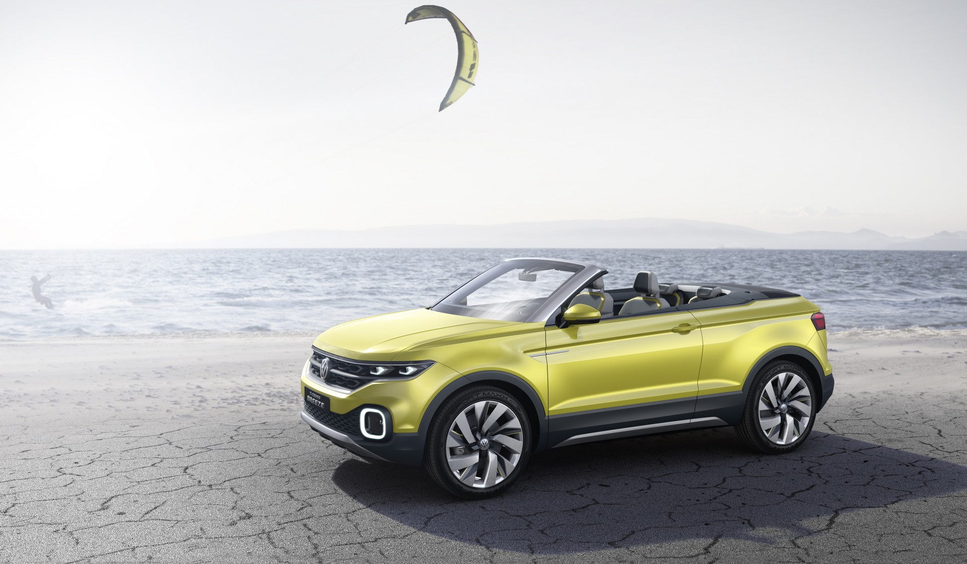 Volkswagen T-Cross Breeze concept car