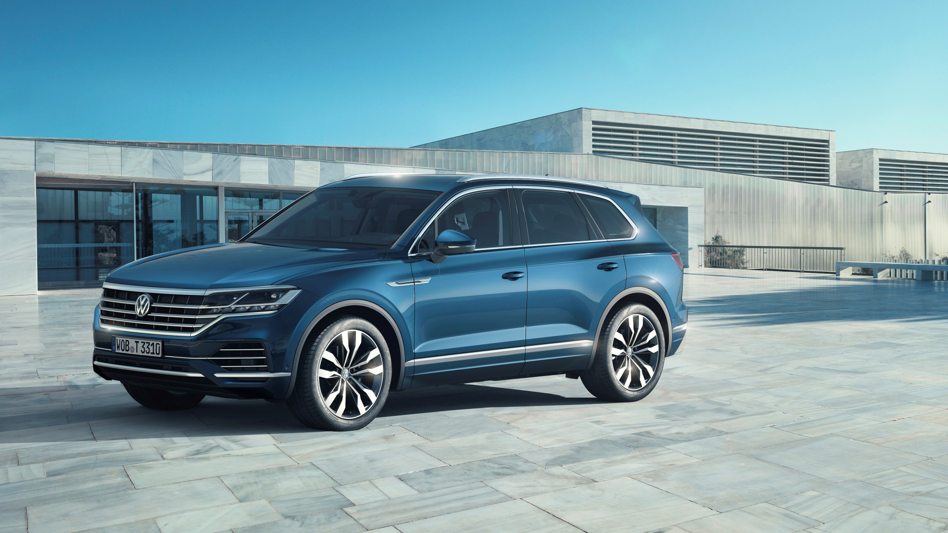 Video Nieuwe Volkswagen Touareg 2018 In Detail