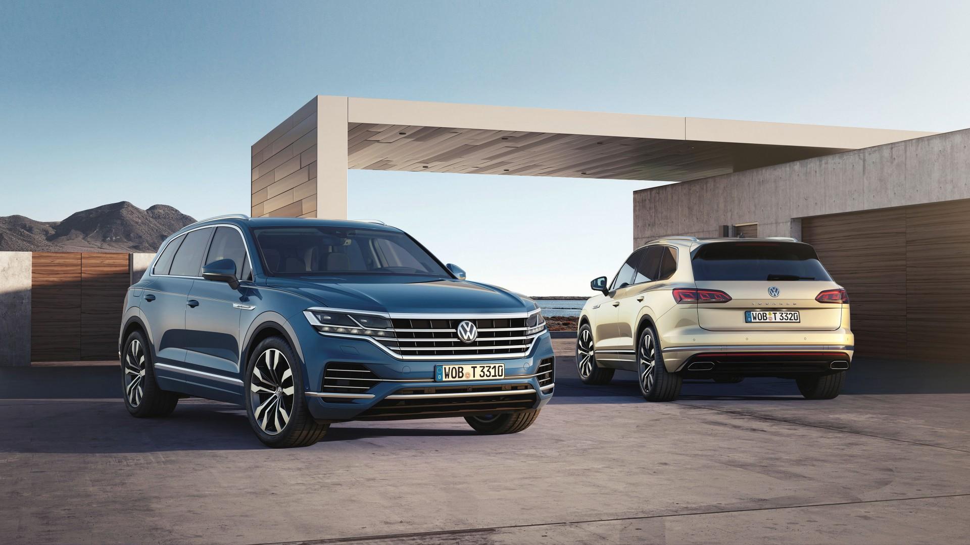 Nieuwe Volkswagen Touareg Nu Te Bestellen Leverbaar Vanaf