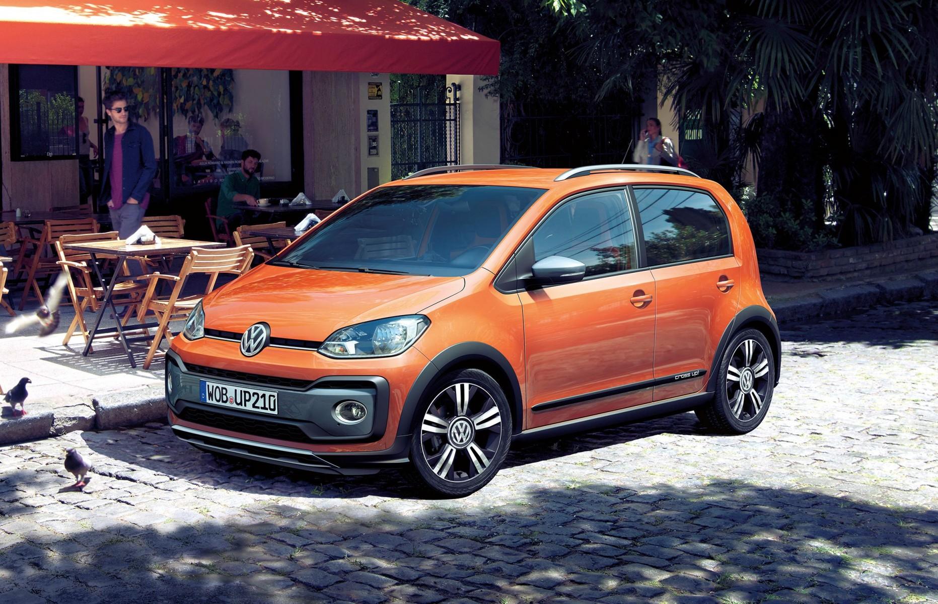 Volkswagen onthult de nieuwe cross up!