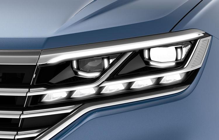 Volkswagen brengt auto's tot leven met innovatief lichtdesign - Touareg