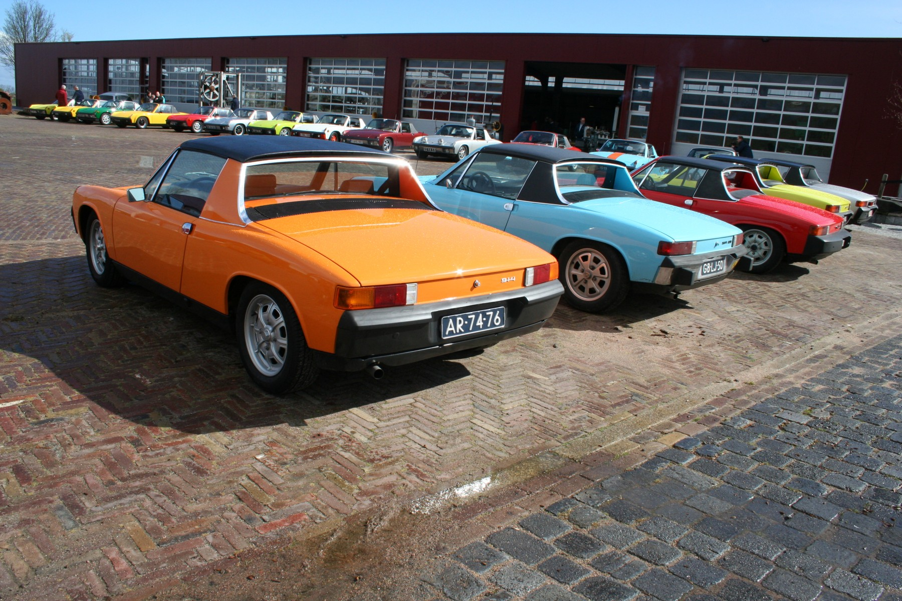 Internationale Porsche 914-meeting