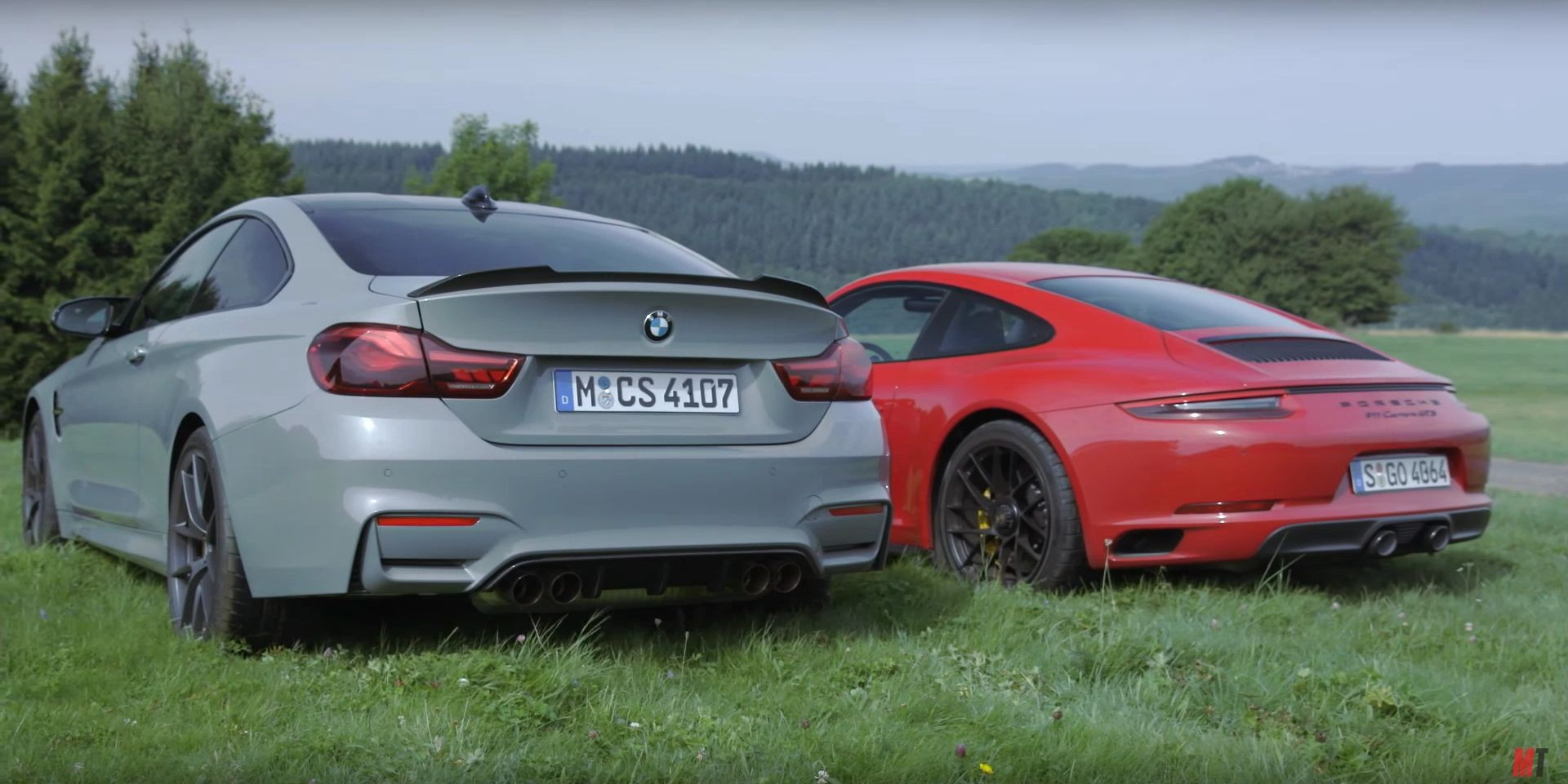 BMW M4 CS vs Porsche 911 GTS