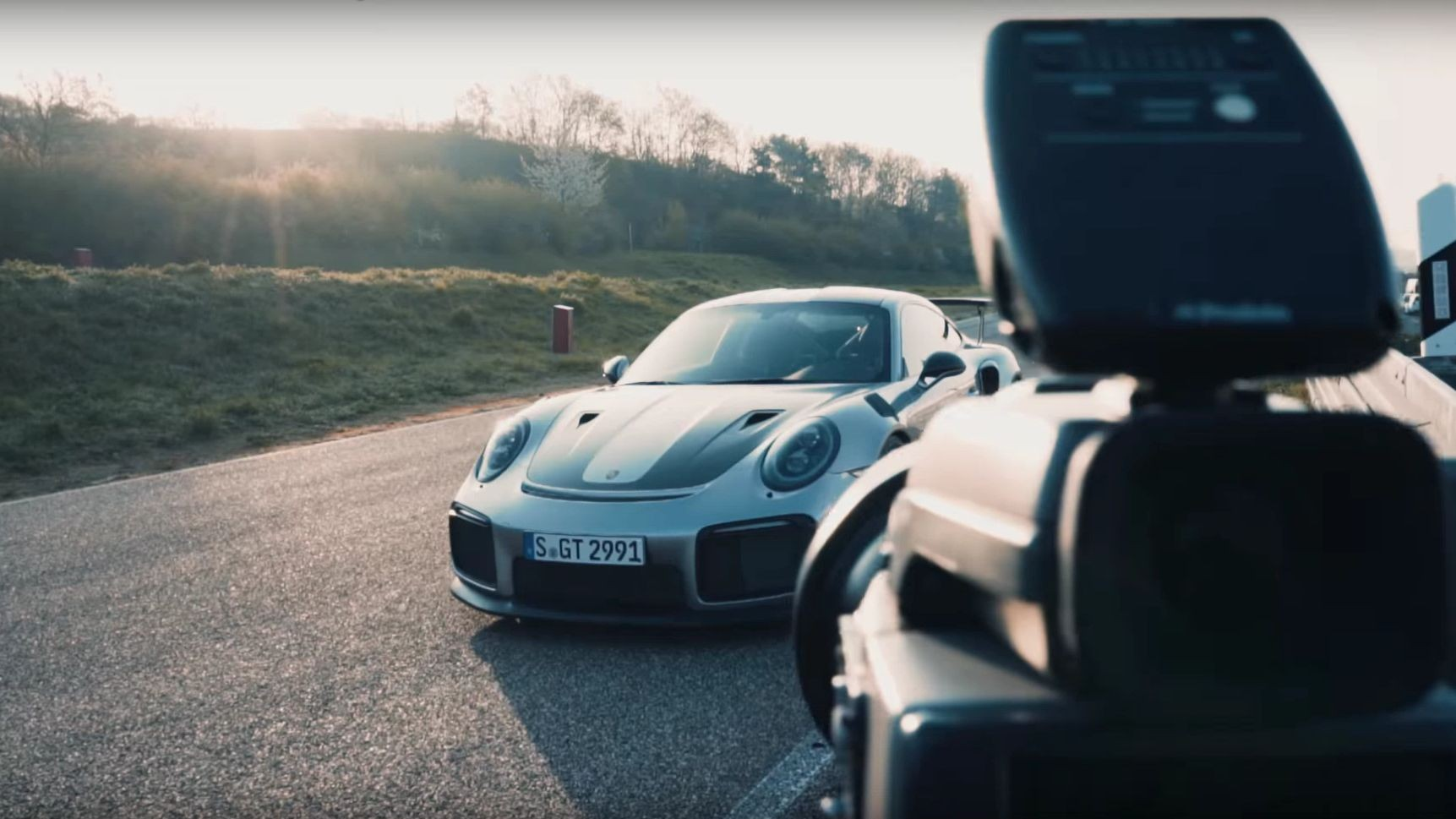 Making of Porsche Kalender 2018