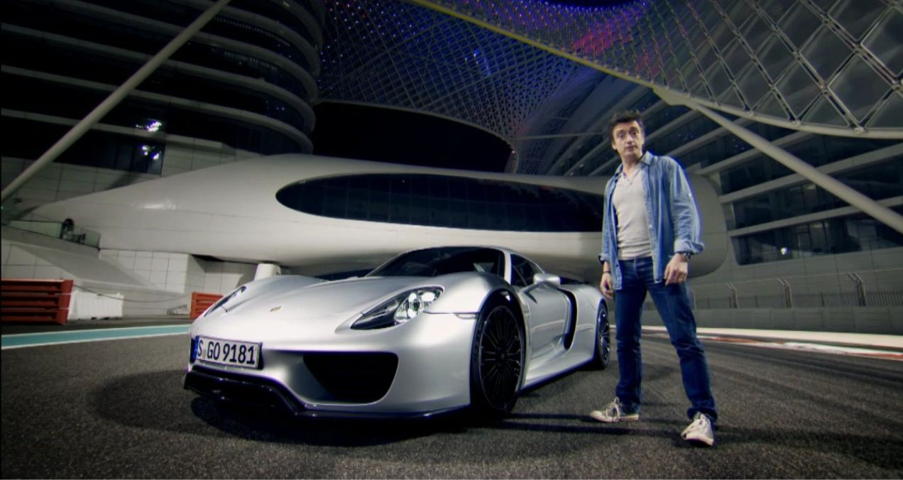 Richard Hammond - Porsche 918 Spyder