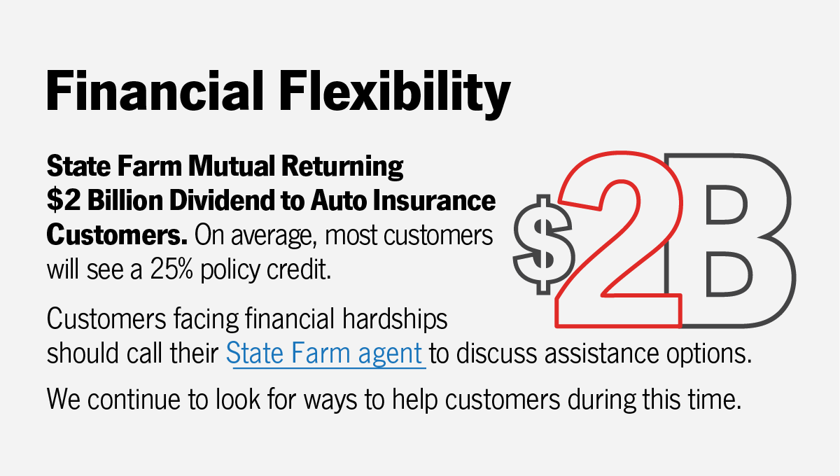 State Farm Mutual Returning 2 Billion Dividend To Auto Insurance