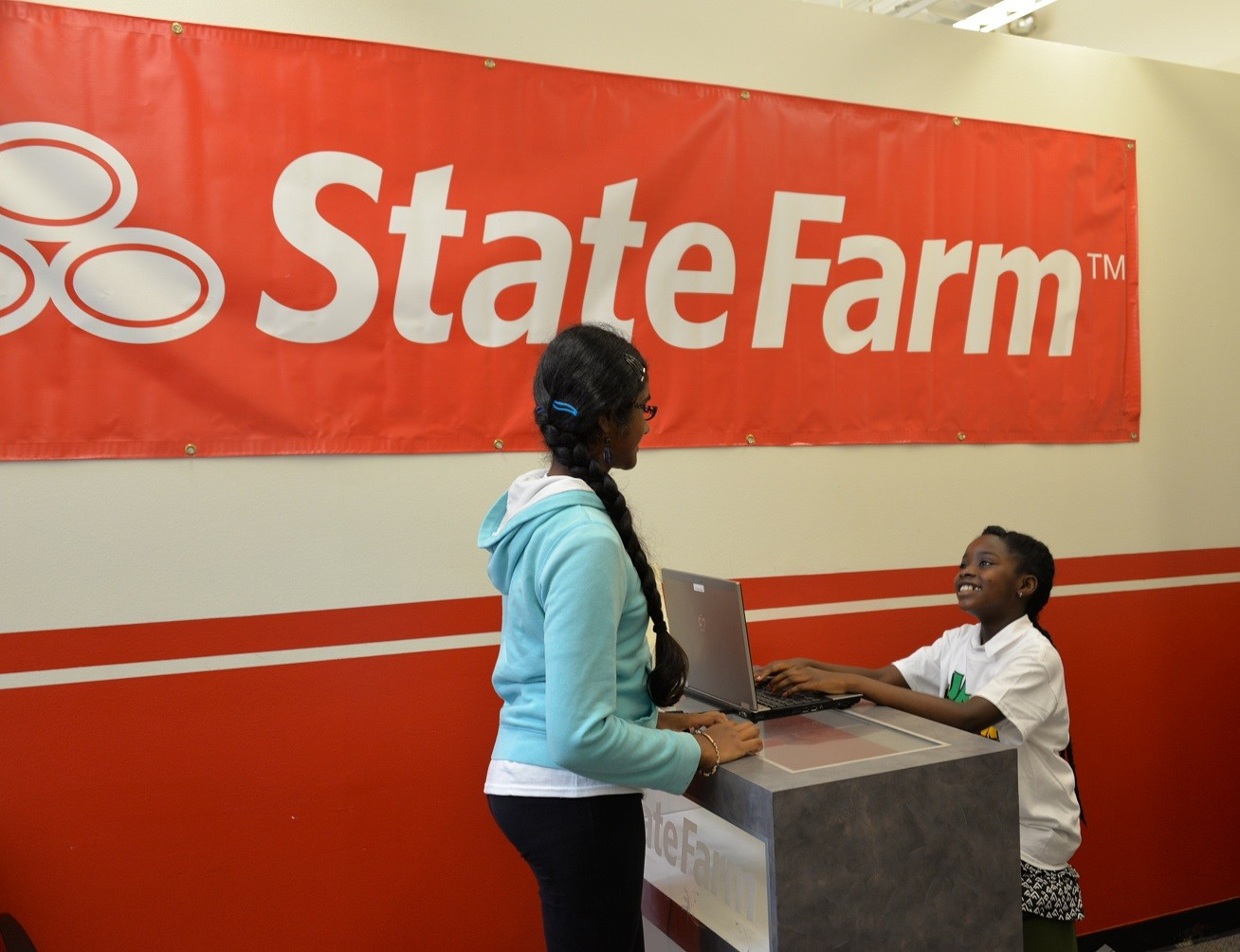 The State Farm JA BizTown office