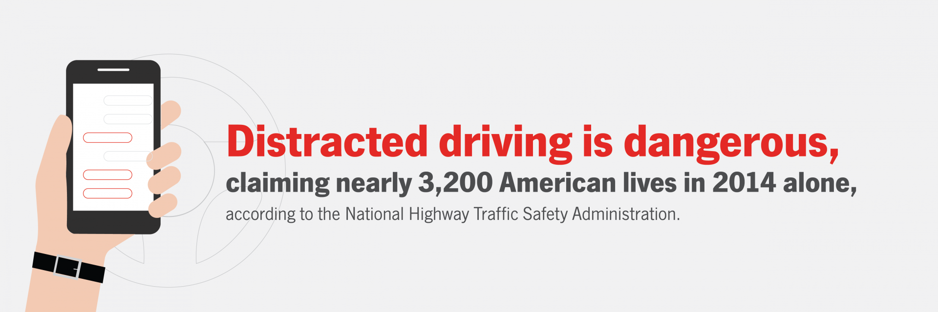 distracted driving stat