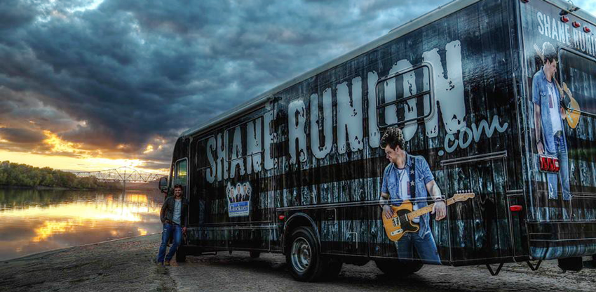 Shane Runion Tour Bus