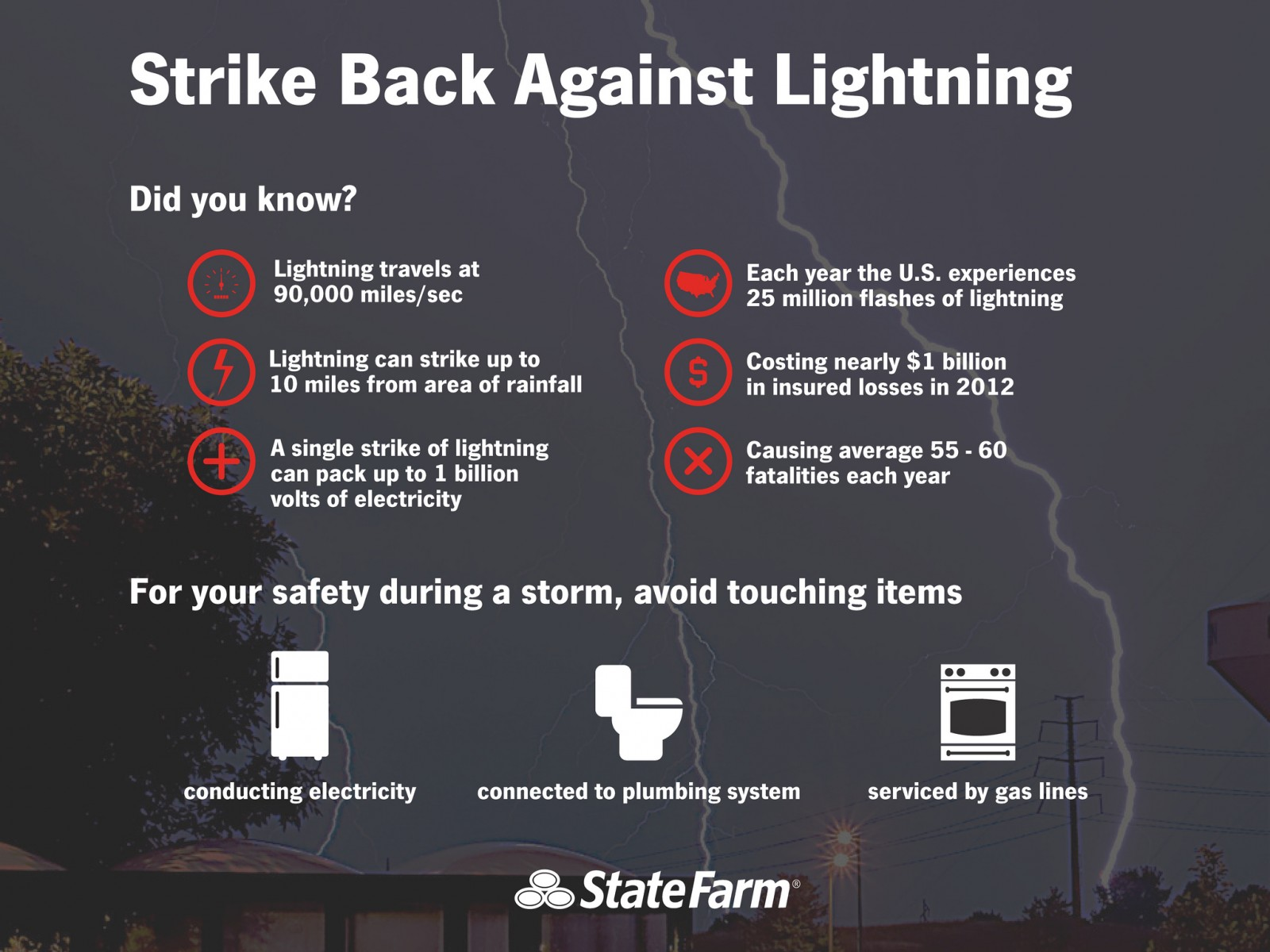 Strike Back Against Lightning
