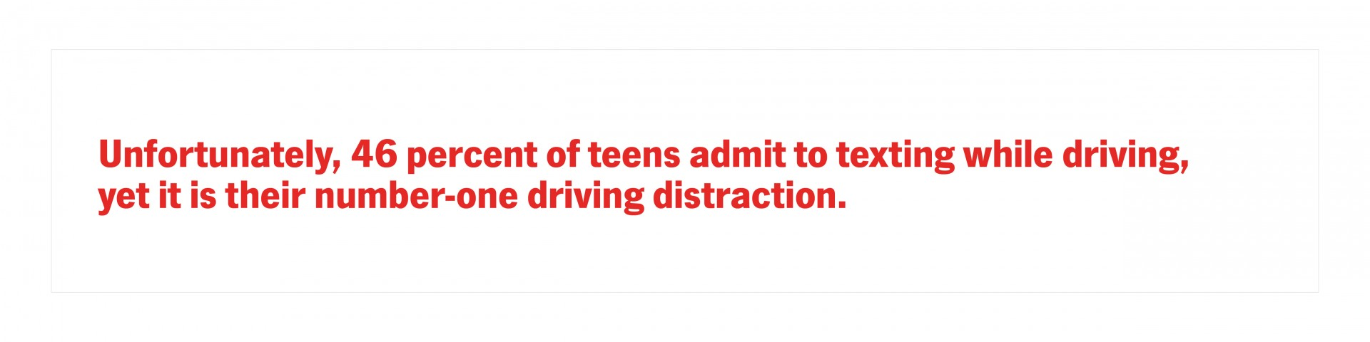 Teen driver stat