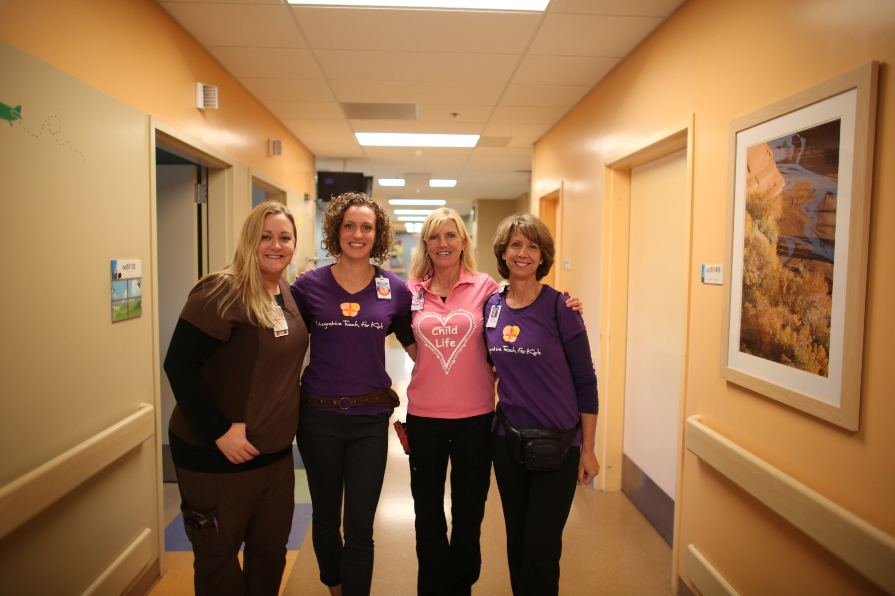 Caregivers gather together