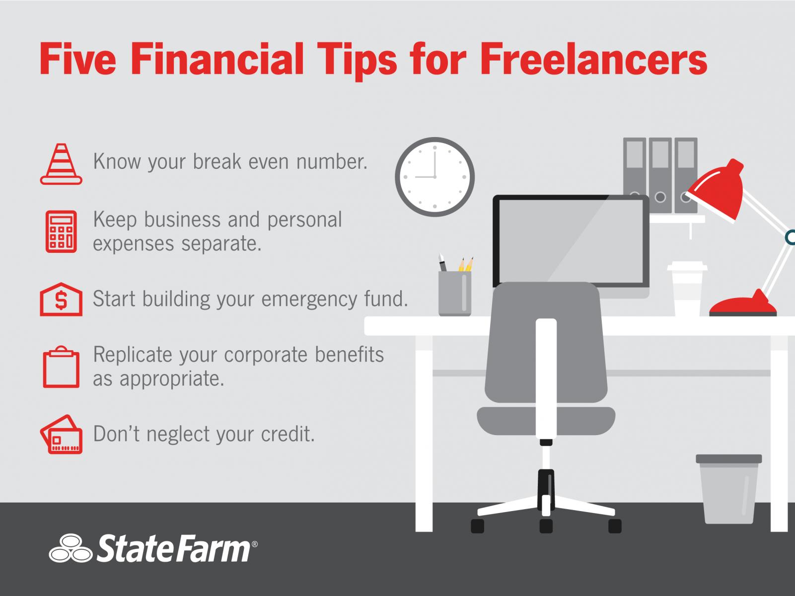 freelancer financial tips