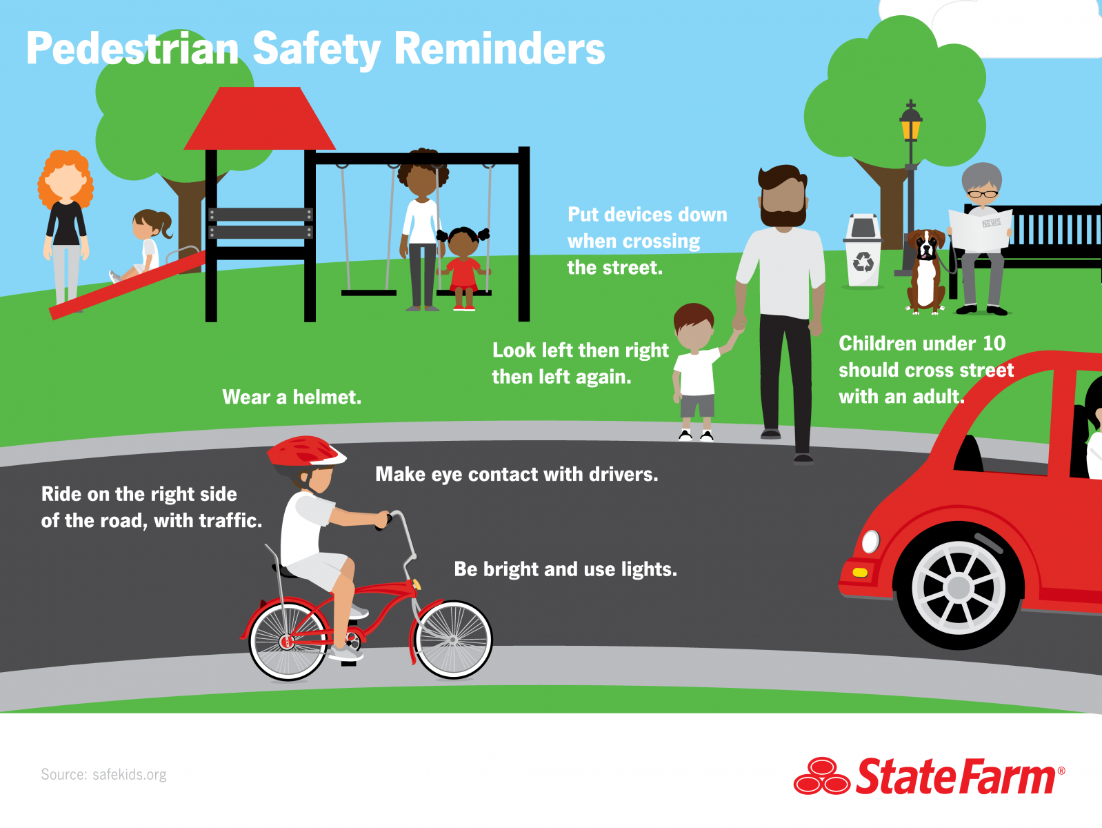 Pedestrian Safety Reminders