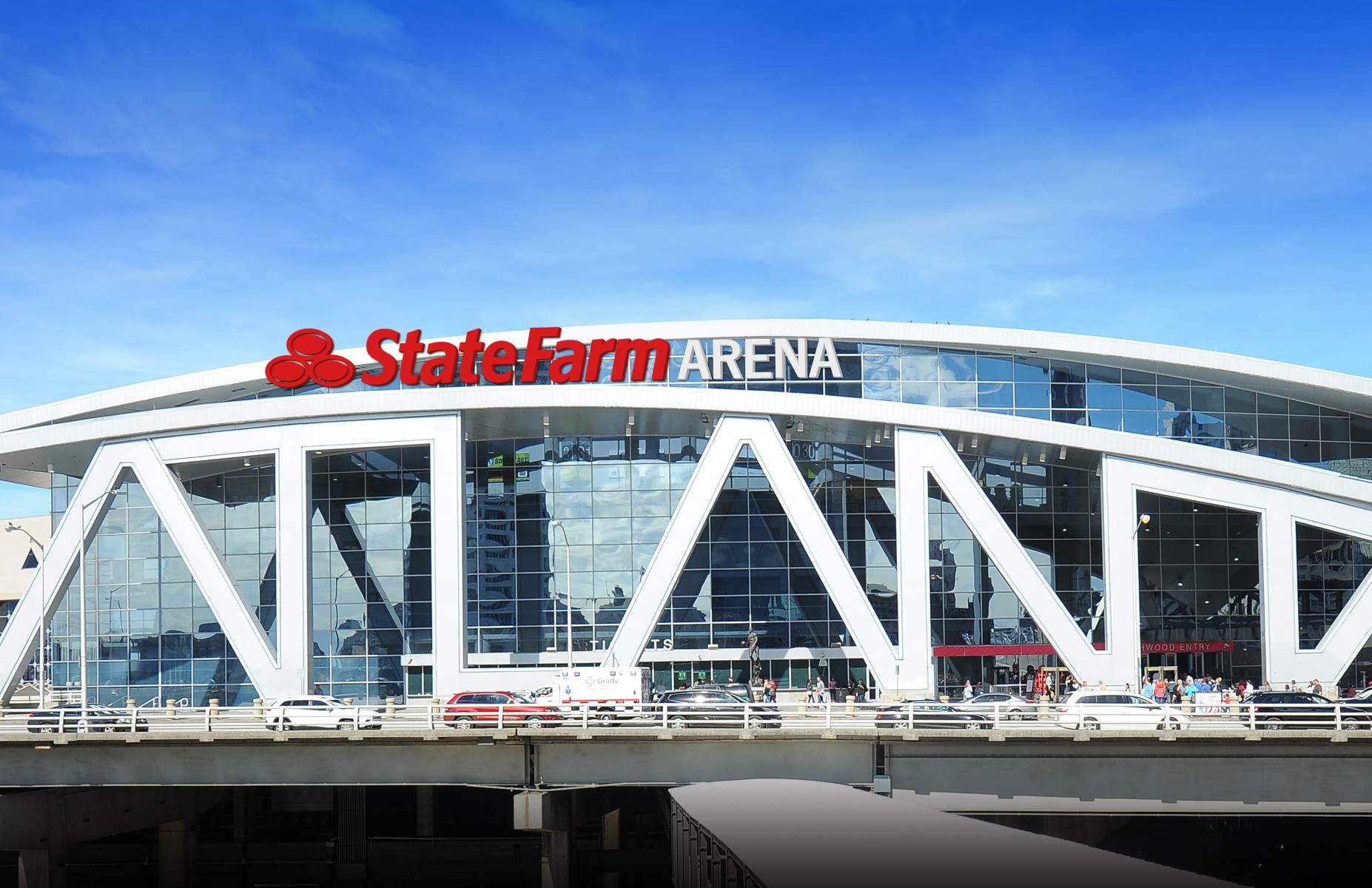 state farm and atlanta hawks announce state farm arena