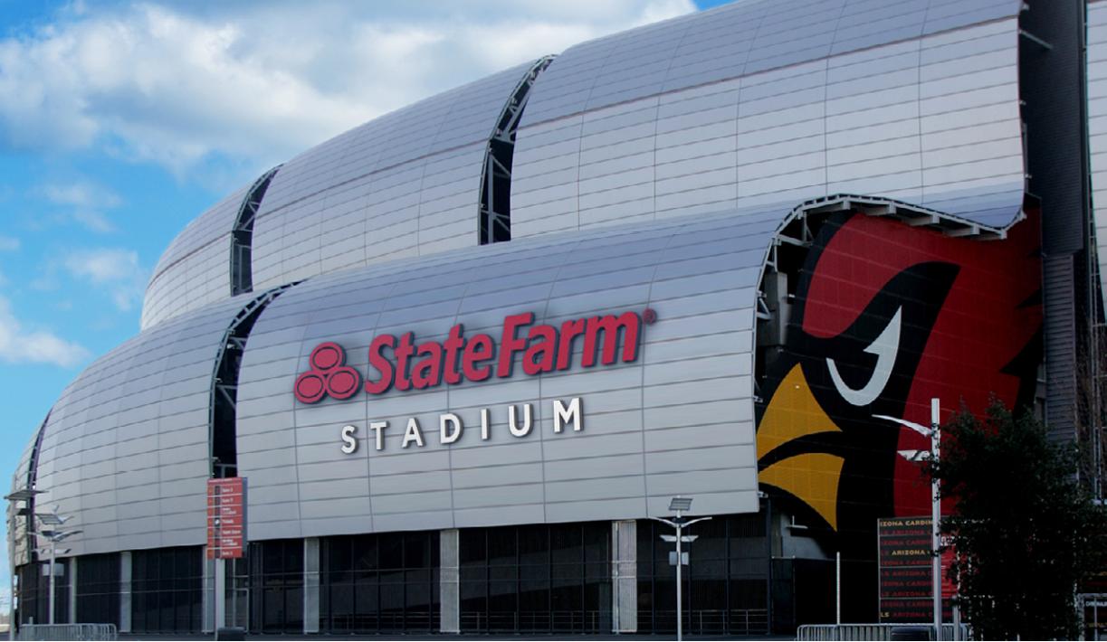 Az Cardinals Announce Naming Agreement State Farm Stadium