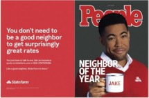 Jake from State Farm Good Neighbor of the Year People Ad