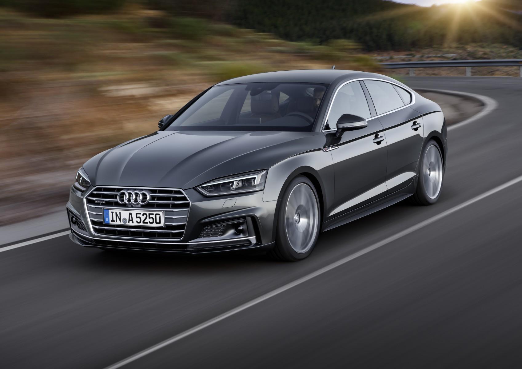 Sportieve, rijk uitgeruste Audi A5 Sportback S line ...