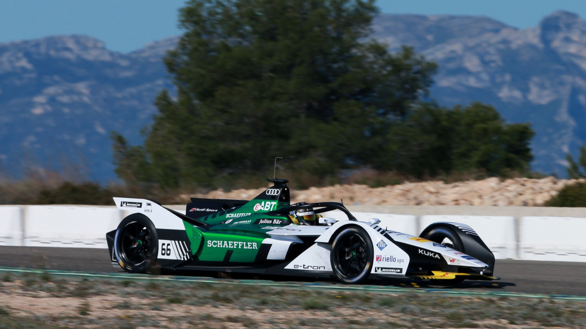 Audi levert e-tron FE05 aan Formule E-team Virgin Racing