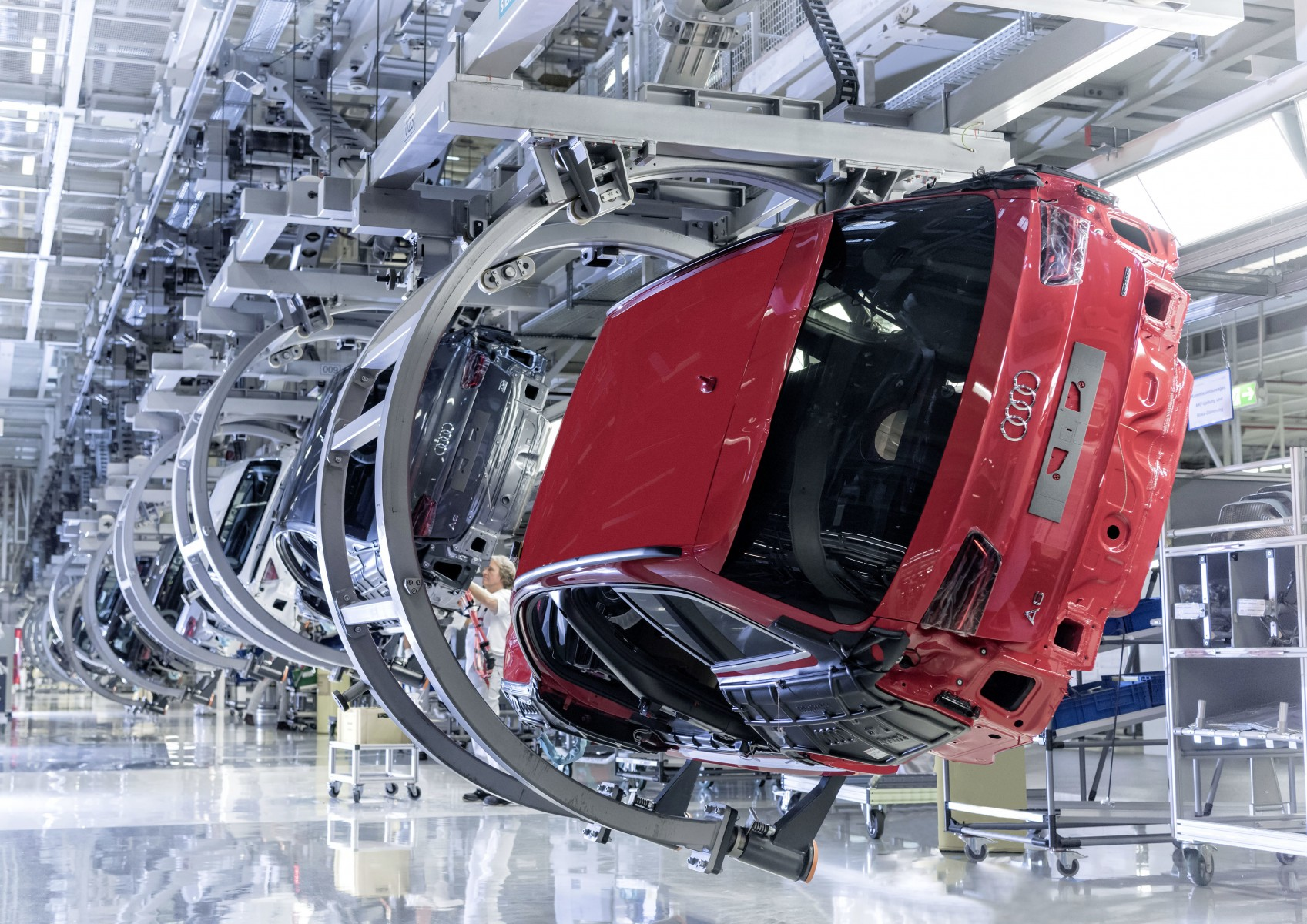Lean Production Award Voor Audi Fabriek In Neckarsulm