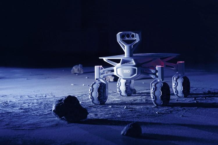 audi lunar quattro de volgende stap op weg naar de maan. Black Bedroom Furniture Sets. Home Design Ideas