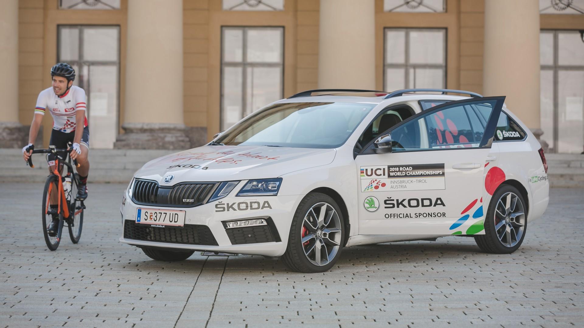 ŠKODA officieel sponsor van UCI WK wielrennen op de weg