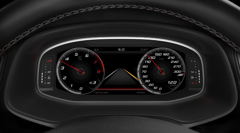 Seat Virtual Cockpit Nu Leverbaar Voor Leon En Ateca