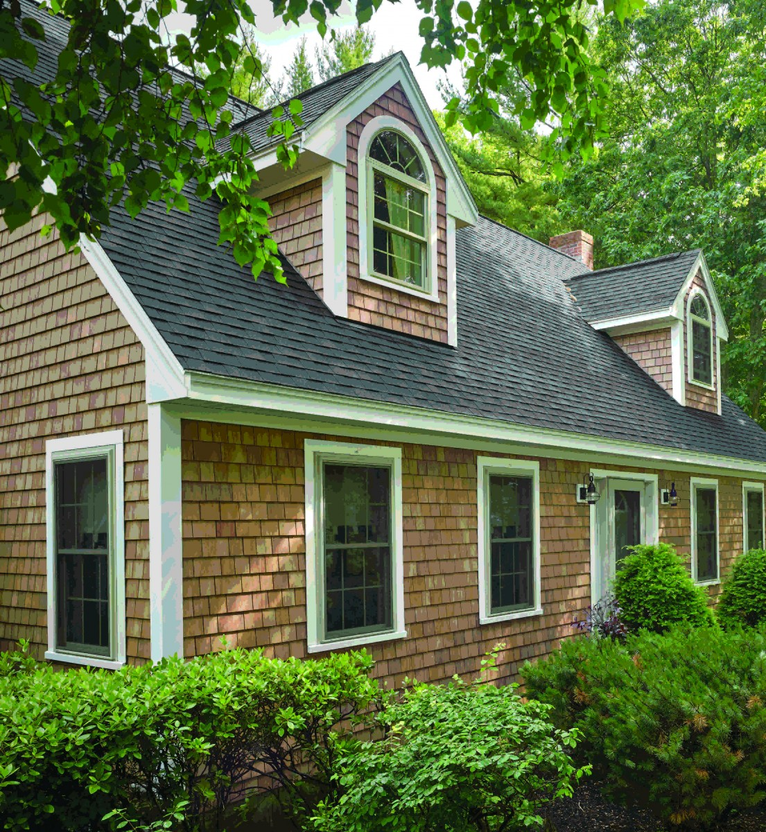 Groundbreaking Polymer Shingle Siding By Certainteed To