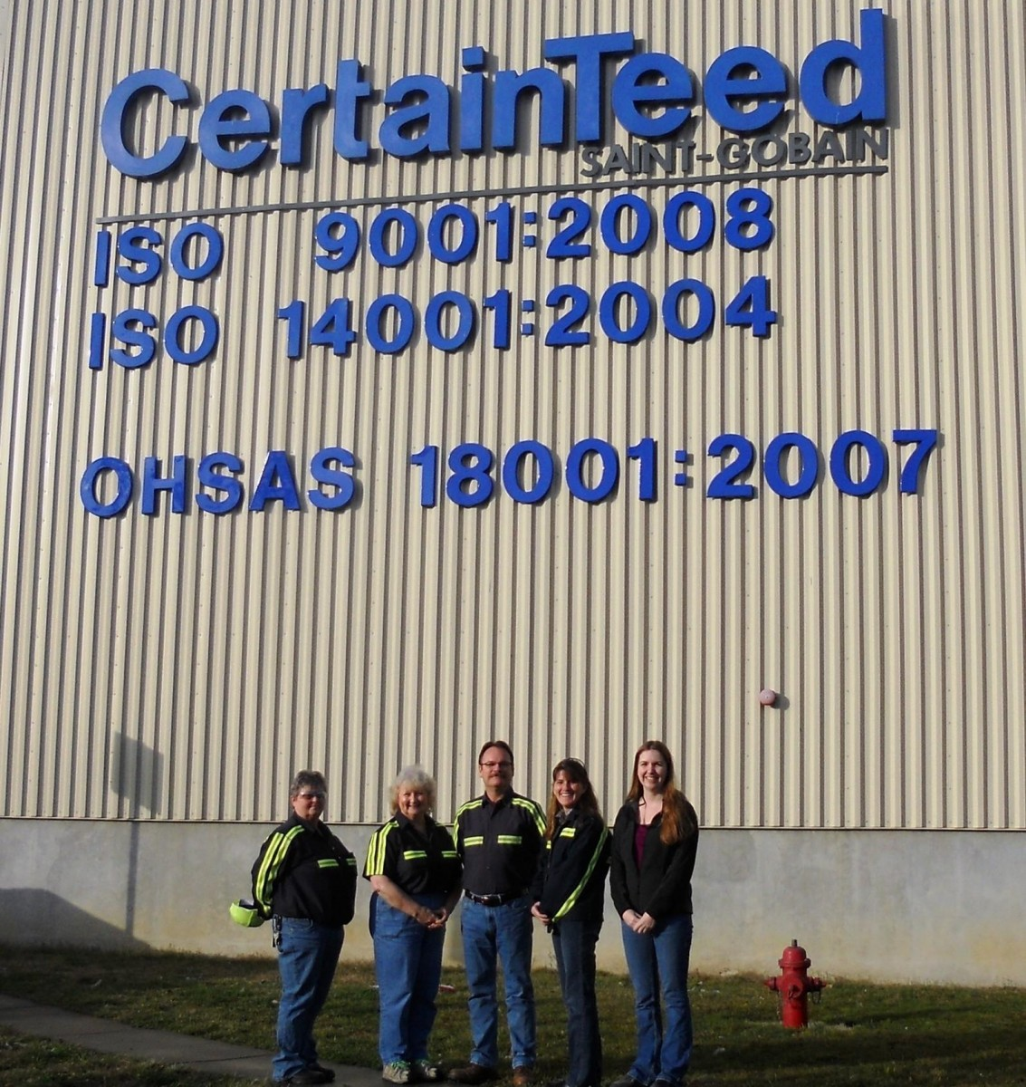 Certainteed S Roofing Plant In Oxford N C Achieves